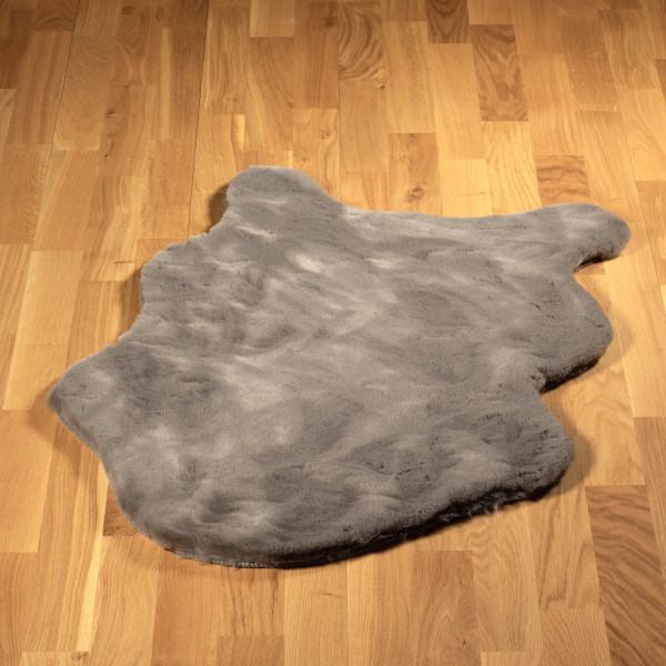 """Kunstfell """"Lulu"""" für den Hund, grau"""