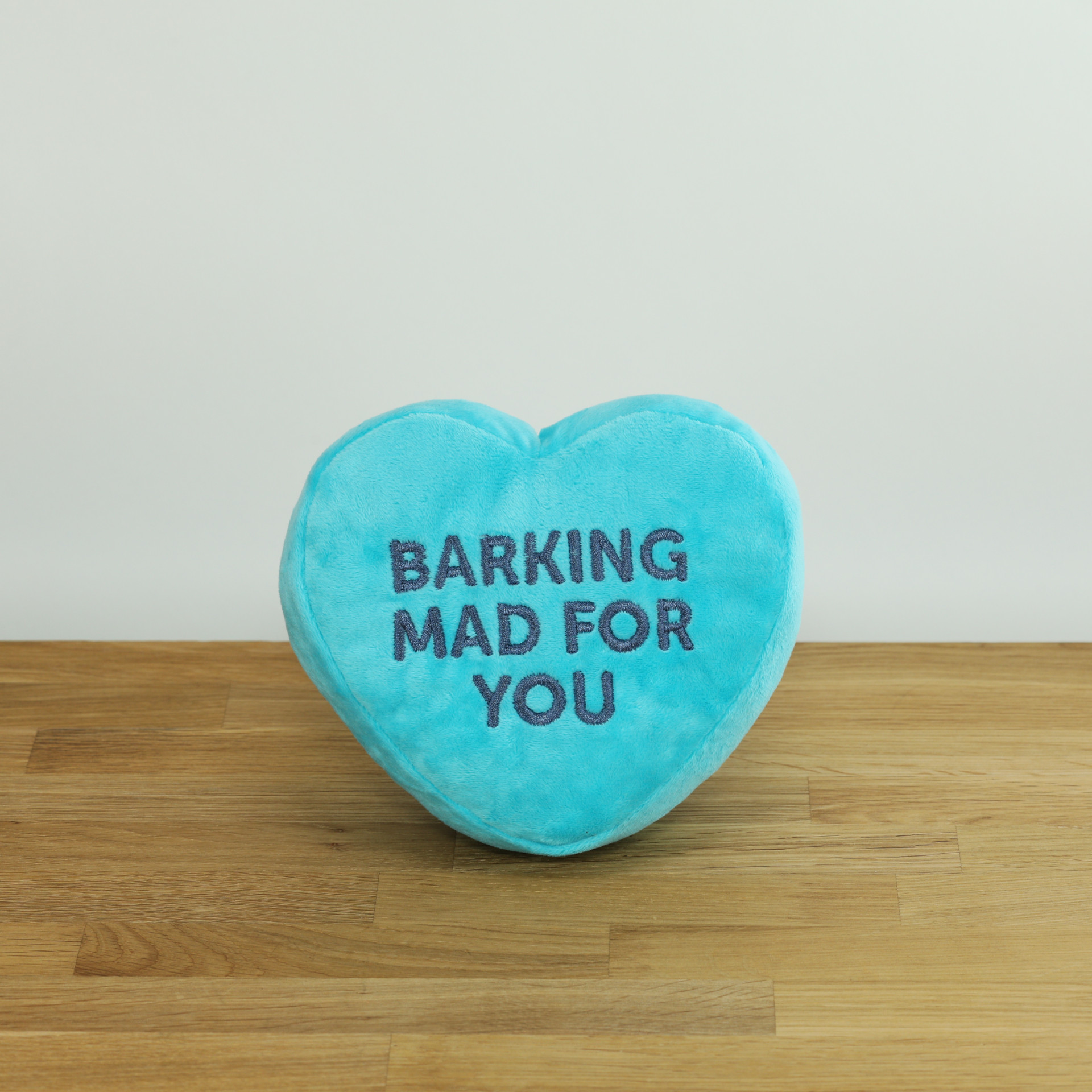 Hundespielzeug Blaues Bonbonherz