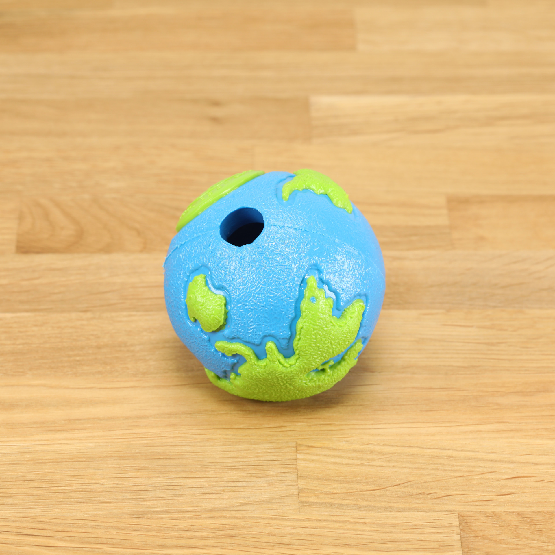 Hundespielzeug Orbee Ball blau/grün