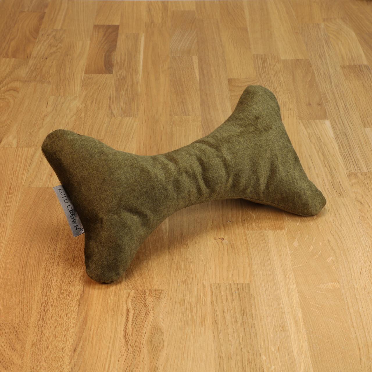 Hundespielzeug Bone oliv