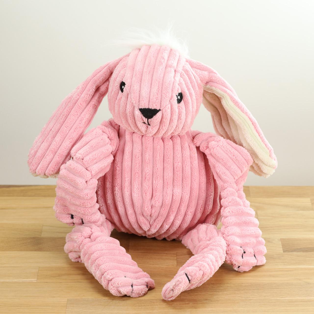 Hundespielzeug Der rosa Hase