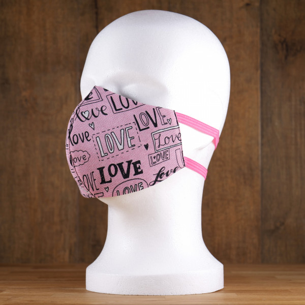 "Stoffmaske ""Love"""