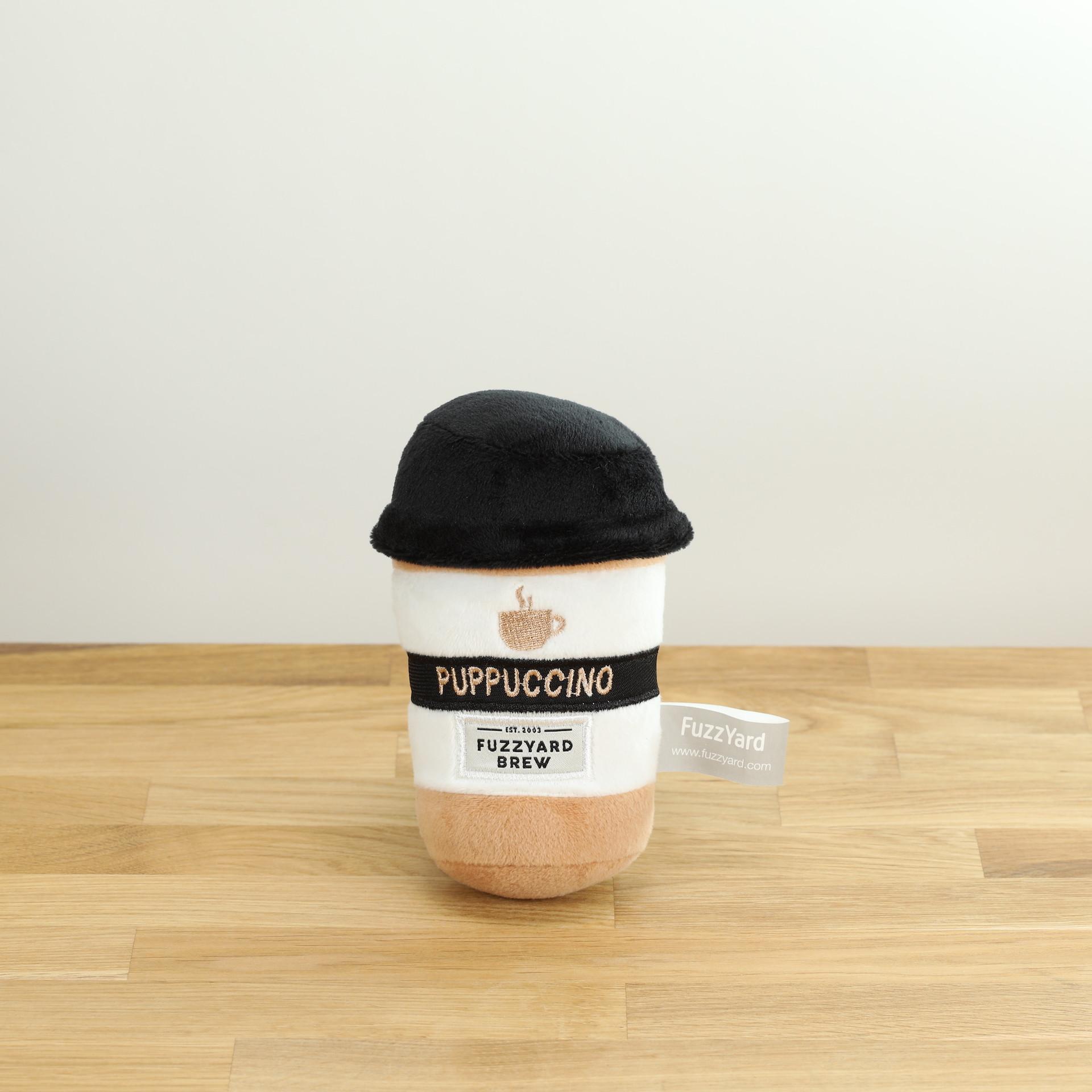 Hundespielzeug Puppucino, der Plüsch-Kaffee to go