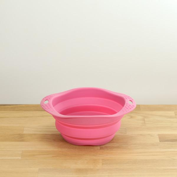 Hunde-Reisenapf Pink