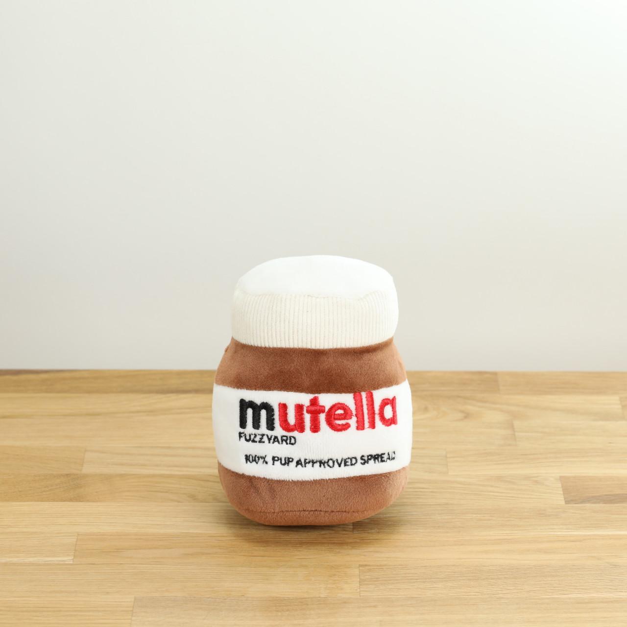 Hundespielzeug Mutella, das Plüsch-Nutella