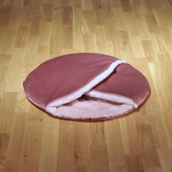 """Hundeschlafsack """"Macaron"""" rosa"""