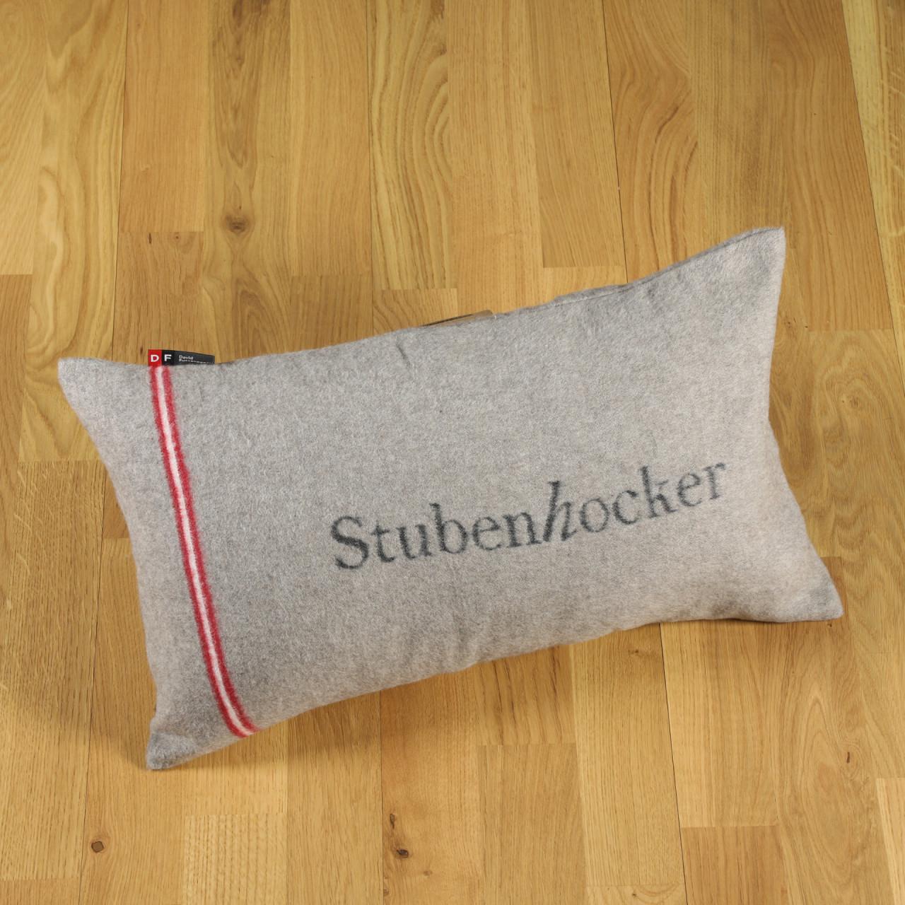 "Kissen ""Stubenhocker"" rauch"