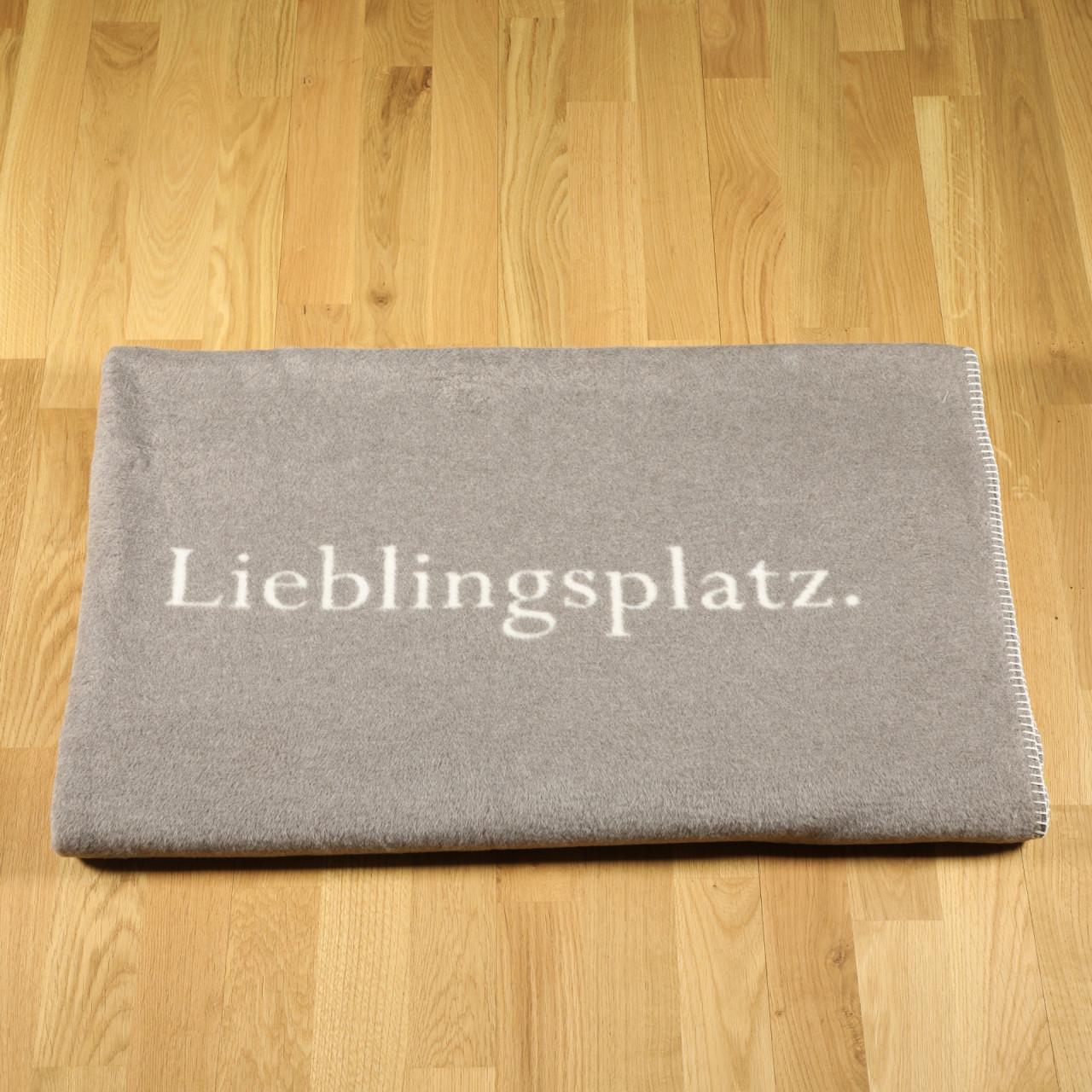 """Wohndecke """"Lieblingsplatz"""" rauch"""