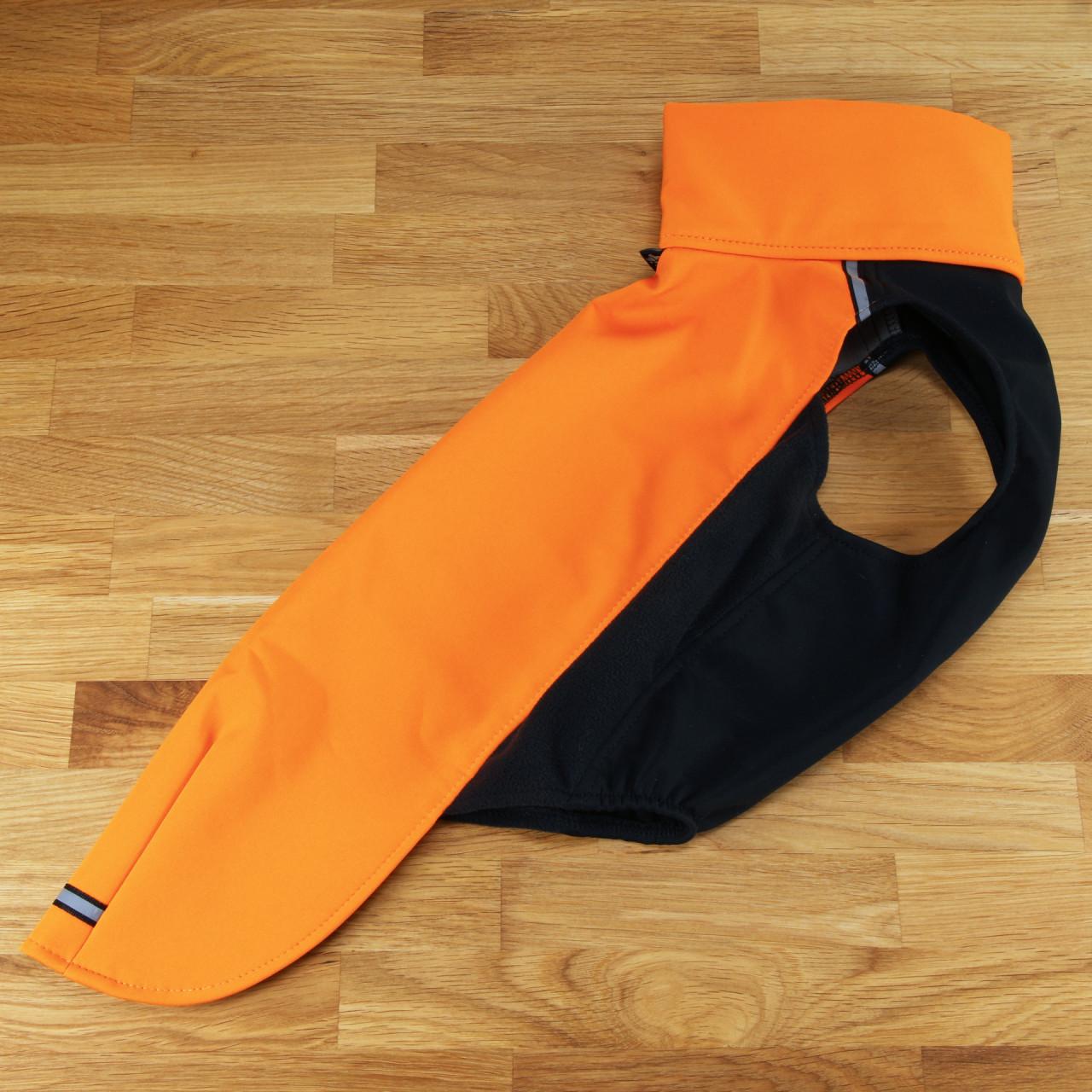 Hundesoftshellpullover Hachico Vol.2 orange