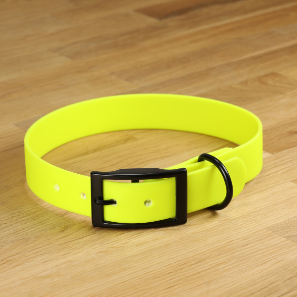 "Hundehalsband ""Lagos"" Biothane Neongelb"