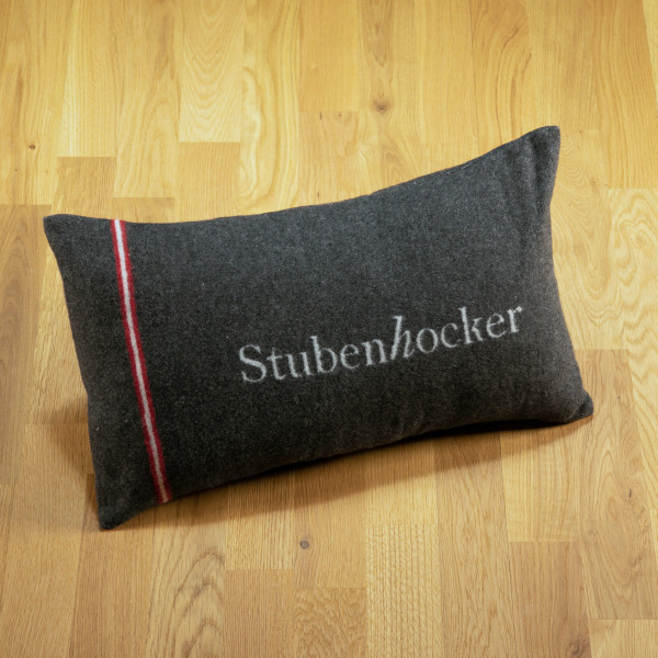 "Hundekissen ""Stubenhocker"" anthrazit"