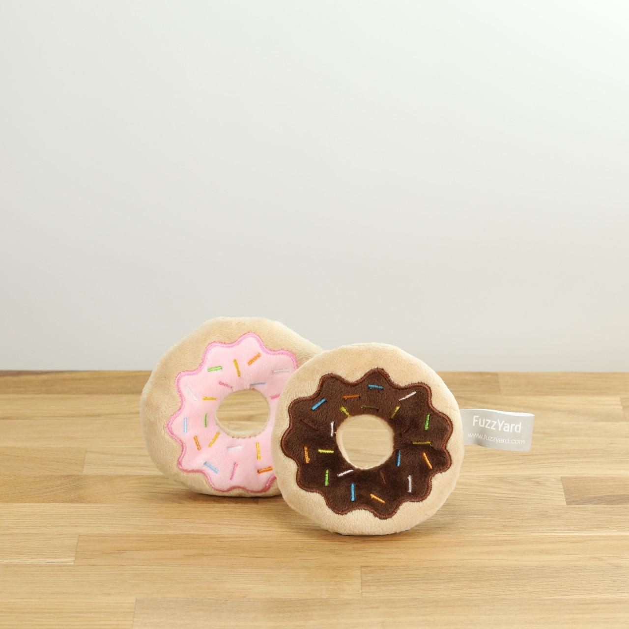 Hundespielzeug Zwei Donuts