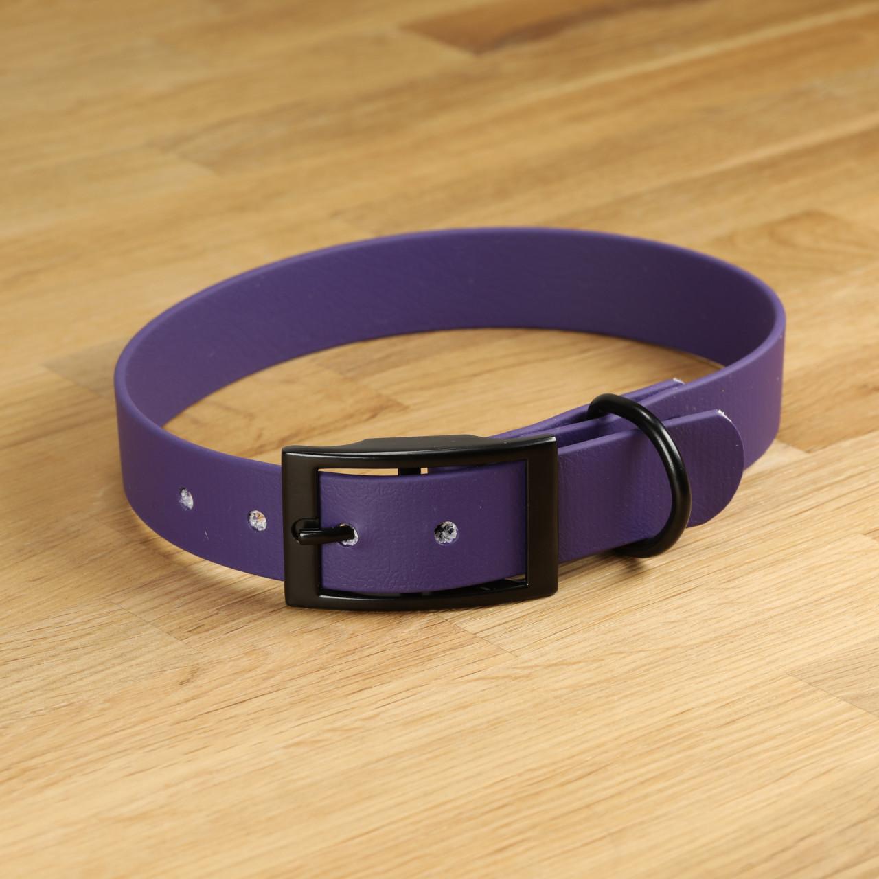 "Hundehalsband ""Lagos"" Biothane® Lila"