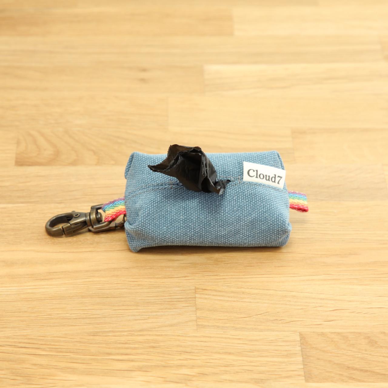 Kotbeutelspender Doggy-Do-Bag Canvas Blau